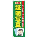 のぼり旗 各種証明写真(マイナンバー) (GNB-2752)