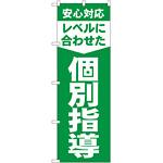 のぼり旗 レベルに合わせた 個別指導 (GNB-61)