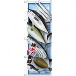 のぼり旗 鮮魚 (イラスト) (SNB-1546)