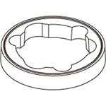 ニコトーチ Φ90用屋外用マウントラバー (A77953)
