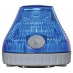 携帯型LED回転灯 ニコPOT カラー:青 (VL08B-003DB)