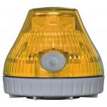 携帯型LED回転灯 ニコPOT カラー:黄 (VL08B-003DY)