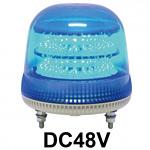 LED回転灯 ニコモア Φ170 DC48V 青 規格:マグネットアタッチメント 電子音出力:有り (VL17M-D48BB/M)