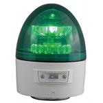 電池式LED回転灯 ニコカプセル Φ118 緑 点灯方式:手動 (VL11B-003AG)