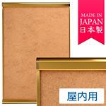 ポスターグリップ PG-32R 2-OPEN(ツーオープン) A2サイズ 屋内用 化研ゴールド