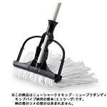 清掃用品 ニューカラーシリーズ 替モップエコラーグ (10枚入) (CL-363-124-0)