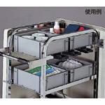 清掃用メンテナンスカート エアロカートM用 樹脂製ボックス (DS-227-810-0)