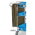 清掃用メンテナンスカート ビルメンカートF用 替袋 (DS-571-502-0)