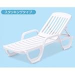 樹脂製 GFサンラウンジャー リクライニングチェア (MZ-603-010-8)