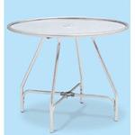 アルミ製 ガーデンアルミテーブル (組立式) サイズ:φ900mm (MZ-610-020-0)