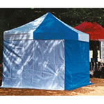 かんたんてんと用 横幕・一方幕 透明 サイズ:300cm (MZ-590-230-0)