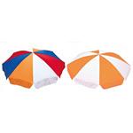 ガーデンパラソル カラー:オレンジ+白+赤+青 (MZ-591-616-5)