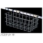清掃用品収納ラック モップ収納ラック用 バスケット サイズ:小 (CE-494-510-0)