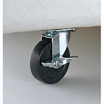 集積保管用ゴミ箱 ワイドペールオプションキャスター (1台分) 規格/キャスター直径:500/100mm (DS-221-650-0)