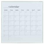 ホワイトボード MRシリーズ (壁掛) カレンダー MR22W 板面寸法 W610×H610 (MR22W)