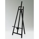 木製イーゼル スタンダード 屋内用 MS165K ブラック (MS165K)