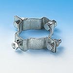 金具 道路標識ボルト止め標識板用止め金具 仕様: (60W) 60.5mmΦ両面用 (137602)
