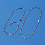 玉鎖 10本1組 サイズ:A-S 2.3mmφ×150mm (170011)