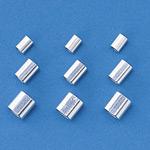 ステンレスワイヤーロープ止金具 10個1組 適合ワイヤー (ロープ径) :ワイヤー15 (1.50mmφ) 用 (197071)