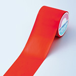 フロアラインテープ 100mm幅×20m カラー:赤 (257034)