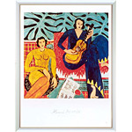 アートポスター 「音楽」 アンリ・マチス作