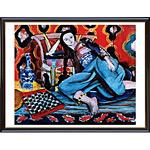 アートポスター 「オダリスク イン チェアー」 アンリ・マチス作