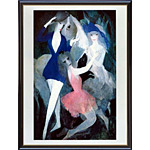 アートポスター 「スパニッシュ ダンサーズ」 ローランサン作