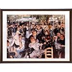 アートポスター 「ムーランギャレットの舞踏会」 ルノアール作