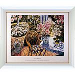 アートポスター 「花の香り? (S)」 ガイ・ビギン作