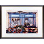 アートポスター 「花で飾られた店」 G・ショエン作