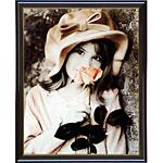 アートポスター 「ピンクローズ」 キム・アンダーソン作