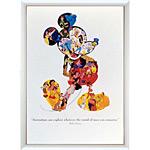 アートポスター 「ミッキーカレッジ」 ディズニーシリーズ作