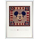 アートポスター 「ミッキーマウス アメリカン オリジナル」 ディズニーシリーズ作