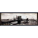 アートポスター 「ザ ブルックリン ブリッジ・ニューヨーク シティ 1938」 C・ベットマン作