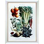 アートポスター 「トマト チリペッパー アンド セロリ」 A・ヴィルモリン作