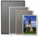 イレパネ シェイプ ポスターサイズ620×930 ブラック