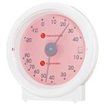 リビ温度計・湿度計 ライトピンク
