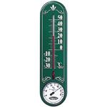 グリーンリーフ温度計・湿度計 壁掛け用 縦長 (TG-6623)