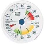 生活管理温度計・湿度計 丸型・壁掛け専用(TM-2441)