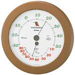 ワンダーワーカー温度計・湿度計 ブラウン (TM-491)