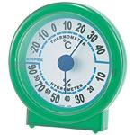 シュクレ温度計・湿度計 グリーン