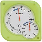シュクレmidi温度計・湿度計 グリーン