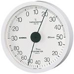 エクストラ温度計・湿度計 ホワイト