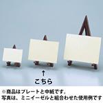 ミニイーゼル用プレート・中紙 H110mm×W150mm 5個入り MEP150