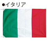 世界の国旗 イタリア テトロン生地 90×135cm