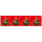 ロール幕 (3827) Merry Christmas H600×W10200mm