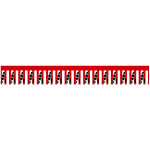 ロール幕 (3908) 大売出し 紅白幕 H300×W10200mm