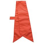 ループ付スカーフ (8672) キャロット