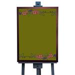 マジカルボード L リーフ (グリーン) (4981)