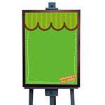 マジカルボード L ウエルカム (グリーン) (4983)